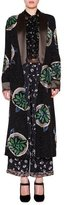 Etro Embellished Reversible Robe-Coat, Black/Multi