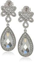Freida Rothman Love Knot Teardrop Earrings