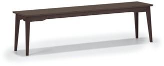 Greenington G0024BL Currant Dining Long Bench, Black Walnut