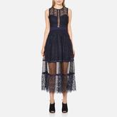 Three floor Women's Narcissa Dress Midnight Blue/Black