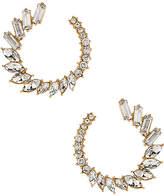 Ettika Round CZ Earrings
