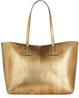 Tom Ford Medium Python T Tote Bag
