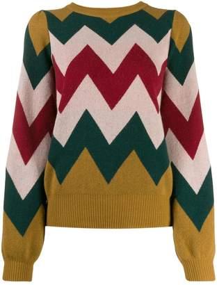 Guardaroba zig-zag pattern jumper