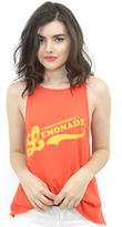 The Laundry Room Lemonade High Neck Tank