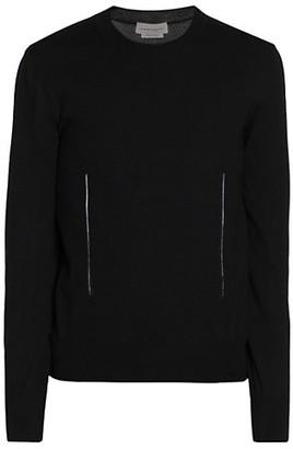 Alexander McQueen Crewneck Wool Sweater