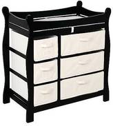 Badger Basket Baby Changing Table - Black