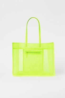 H&M Mesh Shopper - Yellow