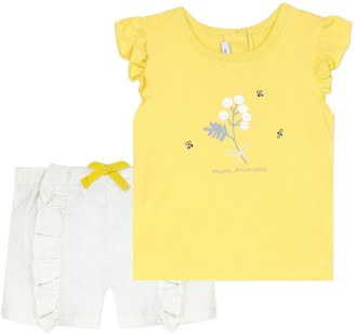 Absorba Cotton Mix T-Shirt/Shorts Outfit, 3-18 Months