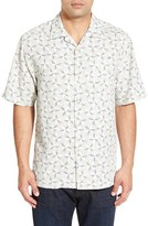 Tommy Bahama 'Levisa Stripe' Original Fit Short Sleeve Sport Shirt