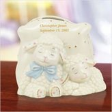 Lenox Lazy Lambs Baby Bank by