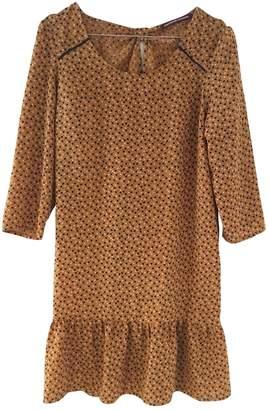 Comptoir des Cotonniers \N Yellow Cotton Dress for Women