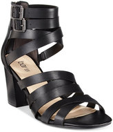 Bar III Kosta Block-Heel City Sandals, Only at Macy's