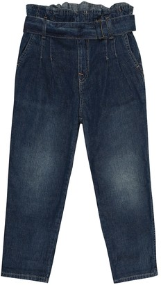 Polo Ralph Lauren Kids Belted cotton jeans