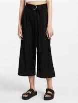 Calvin Klein Platinum Extreme Wide Belted Pants