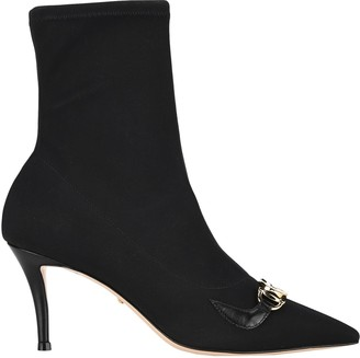Gucci Zumi Heeled Ankle Boots