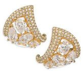 Adriana Orsini Roma Crystal Stud Earrings