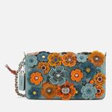 Coach 1941 Women's Glitter Tea Rose Dinky Bag - Steel Blue