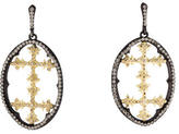Armenta Sombrero Open Diamond Drop Earrings