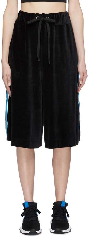 No Ka`oi `Oiwi` stripe outseam velvet basketball shorts