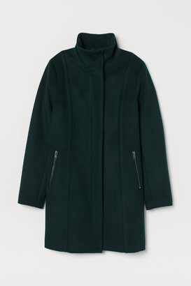 H&M Short wool-blend coat