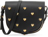 Sophie Hulme Barnsbury Mini Embellished Leather Shoulder Bag - Black