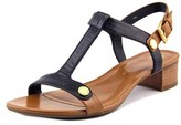 Anne Klein Ebber Women Open-toe Leather Slingback Sandal.