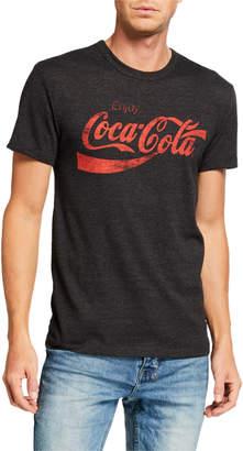 Chaser Men's Enjoy Coca Cola Graphic T-Shirt