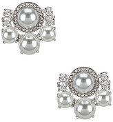 Kate Spade Pearls of Wisdom Cluster Stud Earrings