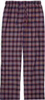 Derek Rose Ranga Multicolour Checked Pyjama Trouser