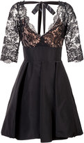 Oscar de la Renta flared lace dress