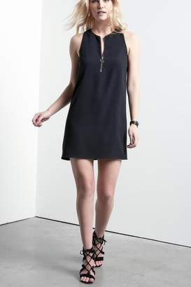 Fifteen-Twenty Fifteen Twenty Half-Zip Shift Dress