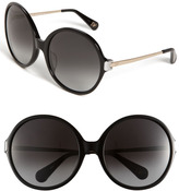 'Lais' Oversized Round Sunglasses