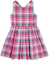 Ralph Lauren Plaid Cotton Dress