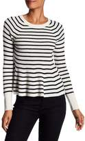 Rebecca Taylor Stripe Lambswool Sweater