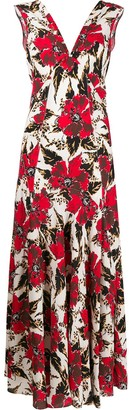 colville Floral Print Maxi Dress