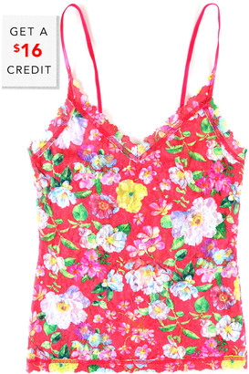Hanky Panky Super Bloom V-Front Cami With $16 Credit