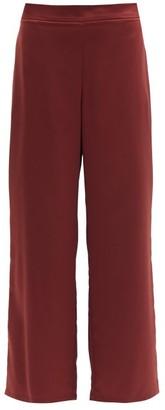 MAX MARA LEISURE Enfasi Trousers - Burgundy