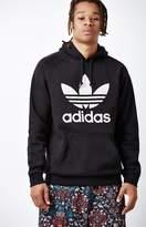 adidas Trefoil Black Pullover Hoodie