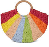 Style Collective Life In Color Straw Tote