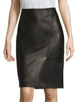 BOSS Seylise Leather Skirt