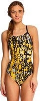 adidas Amoeba Blocks Vortex Back One Piece Swimsuit 8141861