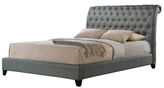 Jazmin Tufted Bed with Headboard