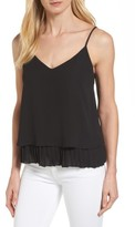 Women's Halogen Pleat Hem Camisole