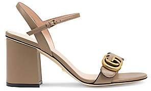 Gucci Women's Marmont GG Ankle-Strap Sandals