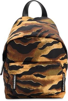 DSQUARED2 Miss Print Nylon Backpack