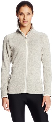 Charles River Apparel Women's Heathered Fleece Jacket