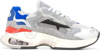 Premiata Sharky panelled sneakers