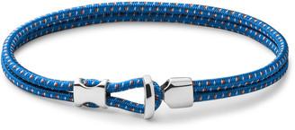 Miansai Orson Cord And Sterling Silver Bracelet