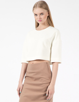 MSGM White Maglia Sweater