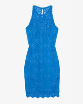Gilber Gilmore Exclusive Lace Sheath Dress